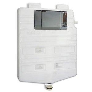 Caixa de descarga Montana M9000 (ac. cromado) - drywall