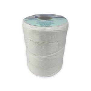 Corda Trançada Multifilamento Branca PP Virgem - Riomar, Opção: Branco(a), Tamanho: 3mm