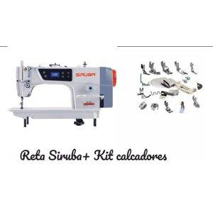 Reta Industrial Completa Siruba completa220v + 18 Calcadores