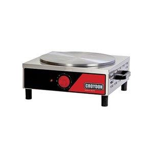 Máquina de Crepe Francês / Panquequeira Simples Elétrica MPES Croydon 127v