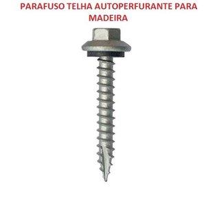Parafuso Telha Autoperfurante Para Madeira 4.8x38 Caixa com 100 Unidades