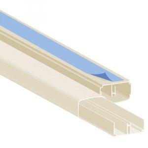 Canaleta de PVC FIta Dupla Face 2cmx1cmx200cm Polifort