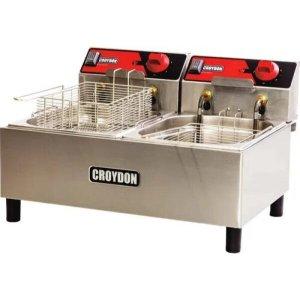 Fritadeira 2 Depósitos 4,5 Litros FC2B Croydon 127V