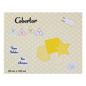 Cobertor Baby 80cm x 120cm Antialérgico Gijo - Ref: GXGIJO - Bege 2