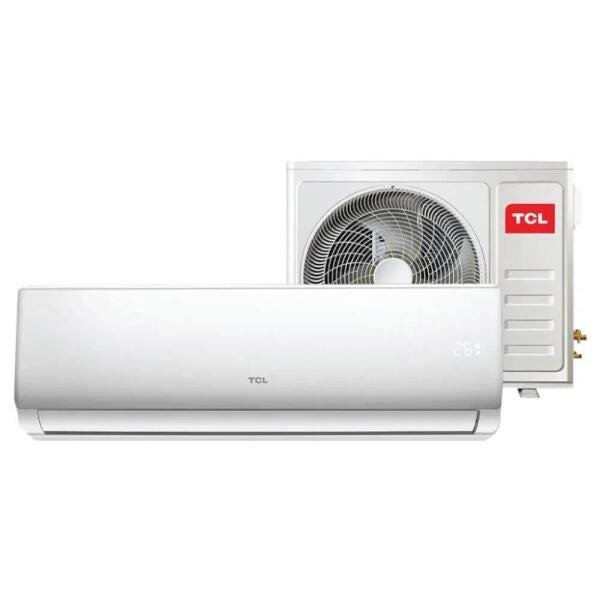 Ar Condicionado TCL Hi Wall Split 9.000 BTUs Frio com Serpentina de Cobre e Filtro HD Silver Íon