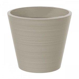 Vaso Decorativo de Plástico Baixo Linea 51cmx58cm Japi