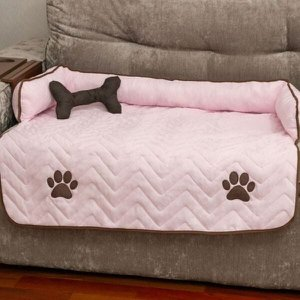 Protetor Cama Sofá Pet Oferta Cachorro e Gato Mascote Grande - Rosa