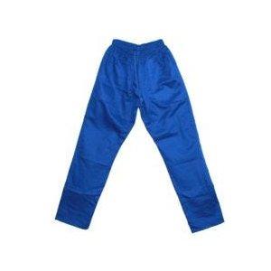 calça brim com elastico azul GG