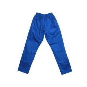calça brim com elastico azul M