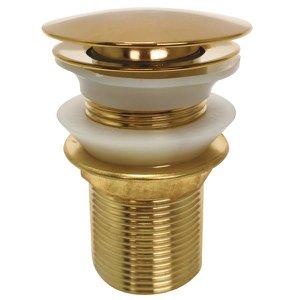 Válvula Dourada Gold Ouro Click 1 1/4 Banheiro Ralo Pia