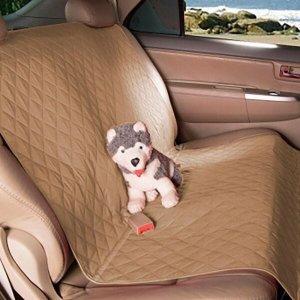 Protetor Carpet Banco Traseiro Carro Impermeável Animais - Avelã