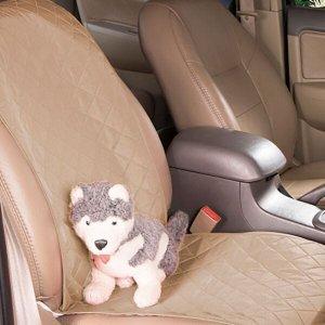 Protetor Carpet Banco Frente Carro Impermeável Animais - Avelã
