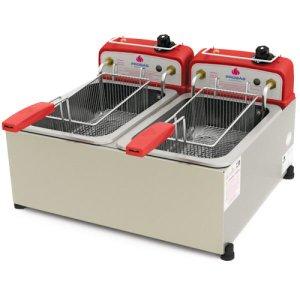 Fritadeira Inox Elétrica 10 Litros PR-20E Progás 127v