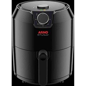 Airfry arno super fritadeira eletrica sem oleo:110/Preto
