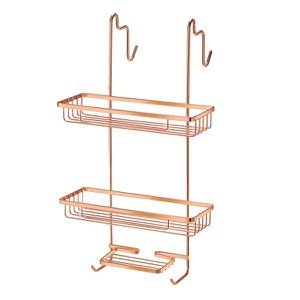 Porta shampoo duplo para box rosé gold - Arthi