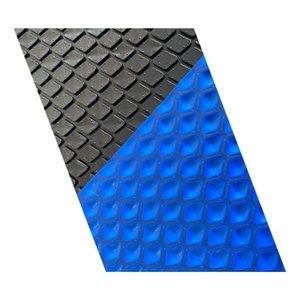 Lona Térmica Piscina 11X4 500 Micras Proteção Uv Black/Blue