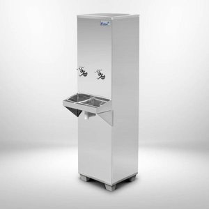 Bebedouro de Água Industrial 25L Coluna Frisbel 220v