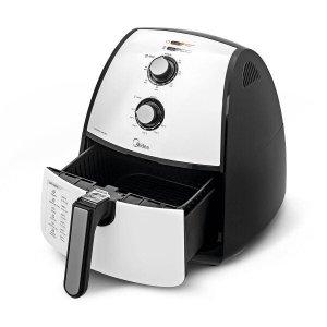 Fritadeira Elétrica Sem Óleo FRA4 Midea 1500W Branco 127 V