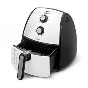 Fritadeira Elétrica Sem Óleo FRA4 Midea 1500W Branco 220 V