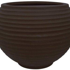 Vaso para Plantas Redondo em Polietileno 54 Esfera Lattice 46cmx37cm Japi