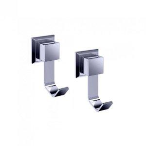 Conjunto 2 Cabide para Banheiro em Inox Premium PR4060 Ducon Metais