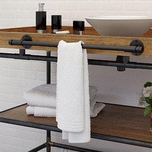 Porta-toalha Barra 30cm Industrial Living 700 Fani