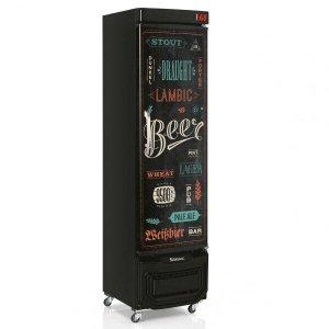 Cervejeira Porta com Adesivo 230L 127V Gelopar