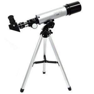 Telescópio Luneta Para Ver A Lua Com Tripé Para Suporte