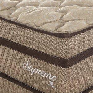 Cama Box Casal Queen Supreme 1,58x1,98x0,60 Molas Ensacadas Montreal