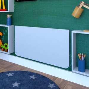Mesa Infantil Dobrável 60cm com Canto Arredondado Bramov Móveis
