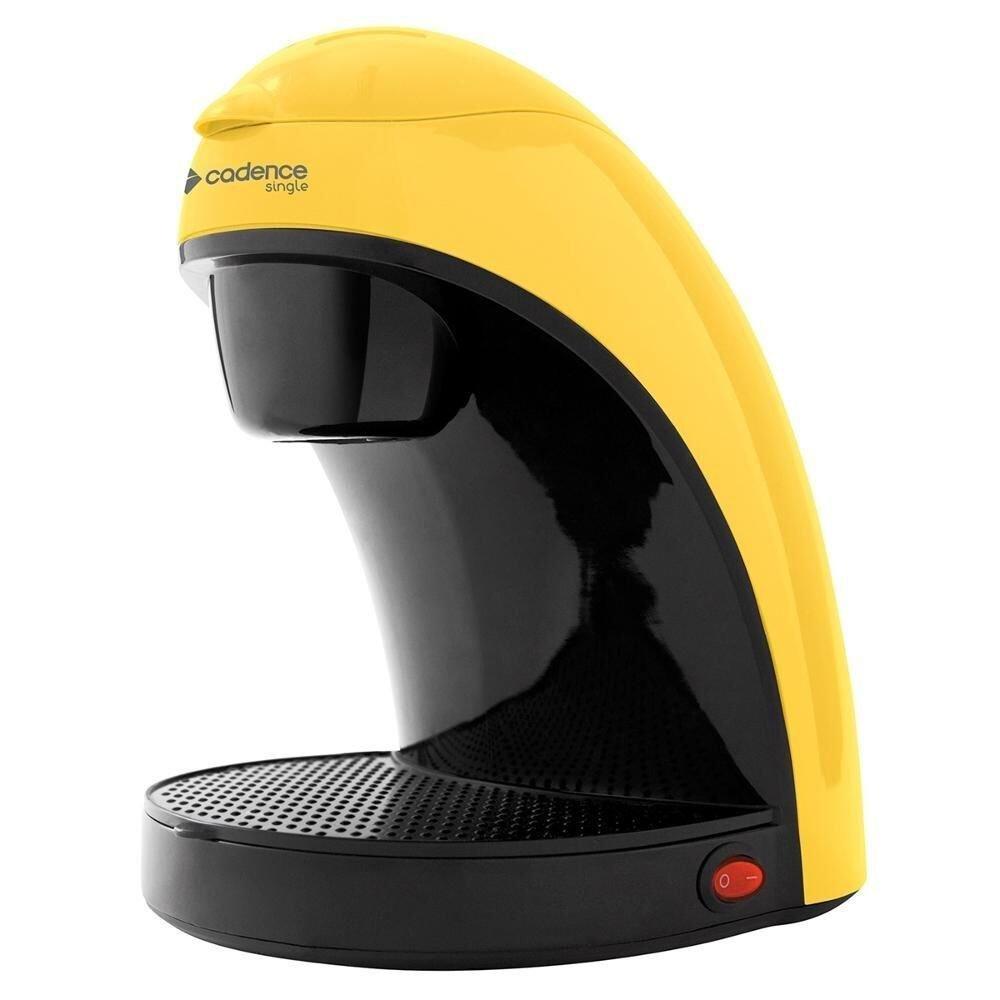 Cafeteira Elétrica Cadence Single Colors Amarelo 110v - Caf214